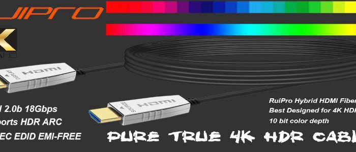 Cables 4K HDR/DV
