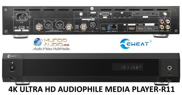 4K ULTRA HD AUDIOPHILE MEDIA PLAYER-R11